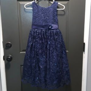 💙💙 Dark Blue GORGEOUS Girls Dress 💙💙